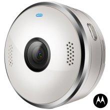 Motorola VerveCam+ Portable Live Streaming Casting Camera for Smartphone - White