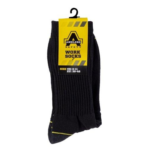 Amblers Unisex Work Socks (1 Pair)