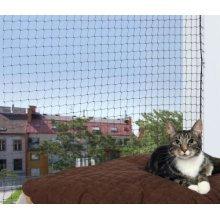 Protective Net, 8 × 3 M, Black - Trixie Safety Nets Cats Mass Item 44341 From -  trixie black safety nets cats mass 8 3 item 44341 from polyethylene