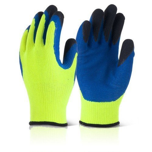 Click BF3SY08 Thermo-Star Fully Dipped Thermal Gloves Yellow Size 8