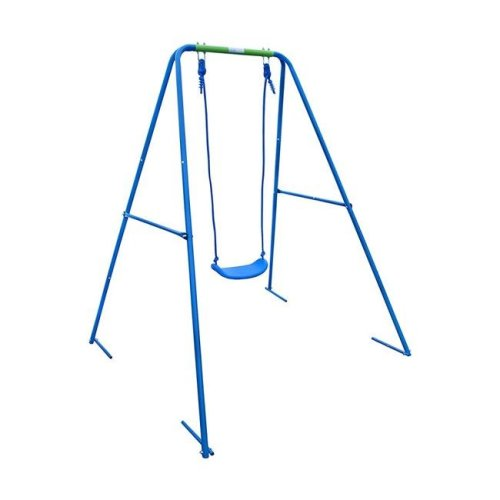 Aleko BSW01-UNB Child Toddler Swing Sturdy Outdoor Swing Seat, Blue