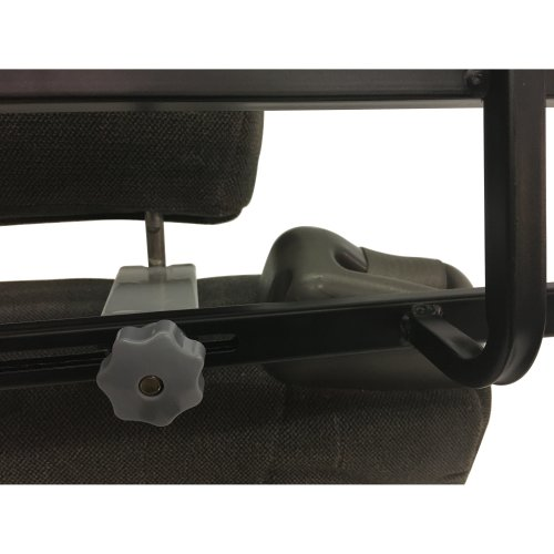 Petego Headrest Stem Clearing Extensions For Barriers 2/Pkg-Charcoal