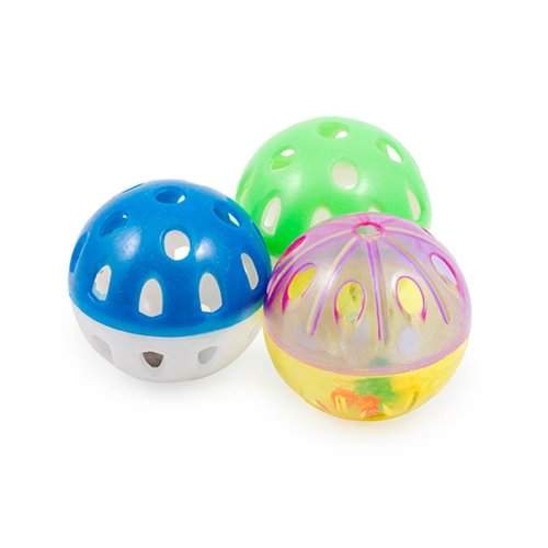 Acticat Plastic Balls 3pc (Pack of 6)