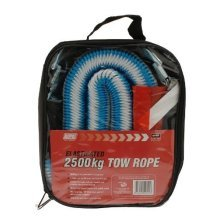 Tow Rope 1.5-4m x 2500kg Dp - Maypole Elasticated 609 4m 154m -  rope tow 2500kg maypole elasticated 609 4m 154m x