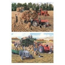 Falcon Deluxe Harvesting Jigsaw Puzzle (2 X 500 Pieces)
