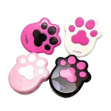 Portable Contact Lenses Cases with Step Pattern Lenses Holder, Color Randomly