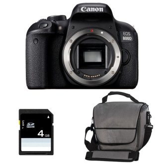 CANON EOS 800D Body + Canon Bag+8gb SD card