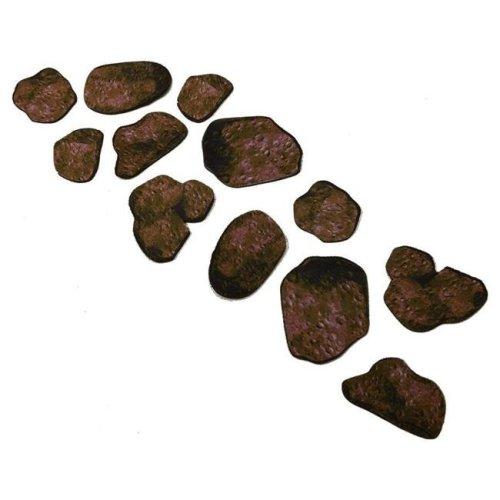 Unipolar Games UNITT0104 2D Tabletop Terrain - Asteroid Pack