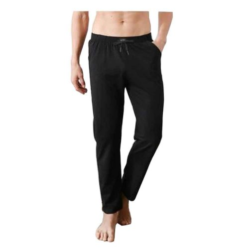Cotton Men's Sweatpants Men's Pajamas Men's Sweats for Spring Autumn [F]