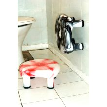 Feel Safe Shower Bath Stool No Accidental Slip,Stick On Multi-Surfaces