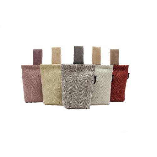 McAlister Textiles Herringbone Fabric Door Stops