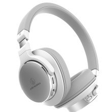 Audio-Technica ATH-SR5BT OnEar White Bluetooth Headphones