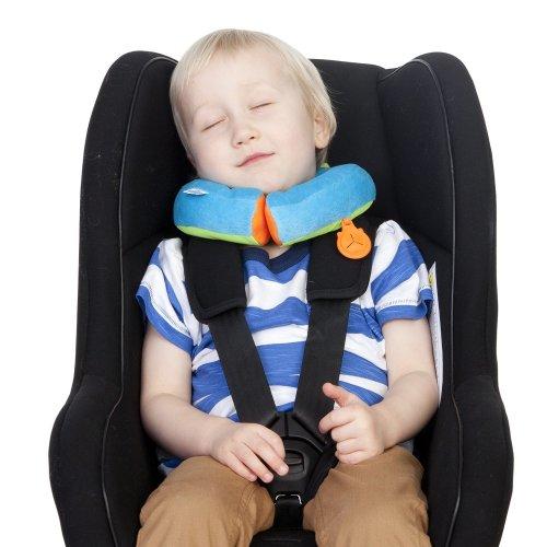 Trunki Yondi Travel Sleep Support Pillow - Bert SMALL (Blue)