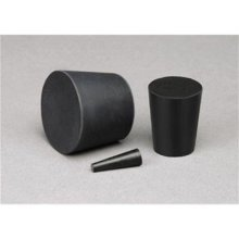 TapeCase EPS 5000-2000 Black, EPDM Stoppers, 5.000in b x 3.500in t x 2.000in L - 5 (Units/Package)