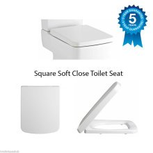 Square Soft Close Toilet Seat