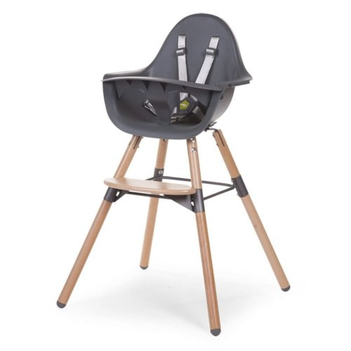 CHILDWOOD 2-in-1 Baby High Chair Evolu 2 Anthracite CHEVOCHNA