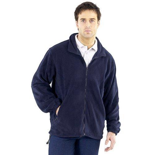 Click FLJN4XL Fleece Jacket Navy Blue 4XL