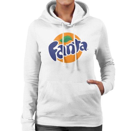 Fanta Circle Logo Women's Hooded Sweatshirt
