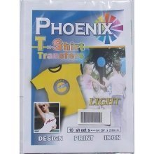 Phoenix T-Shirt Transfer Paper - Light