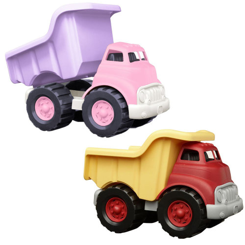 Green Toys Dump Truck with Working Dumper and No Metal Axles