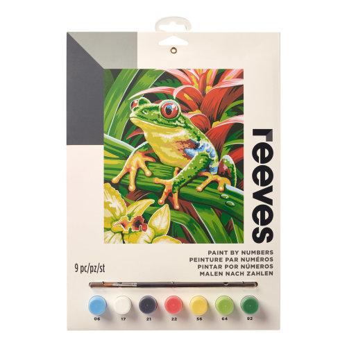 Reeves Painting By Numbers-Tree Frog