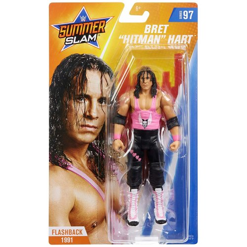 WWE Basic - Series 97 - Bret Hart Figure