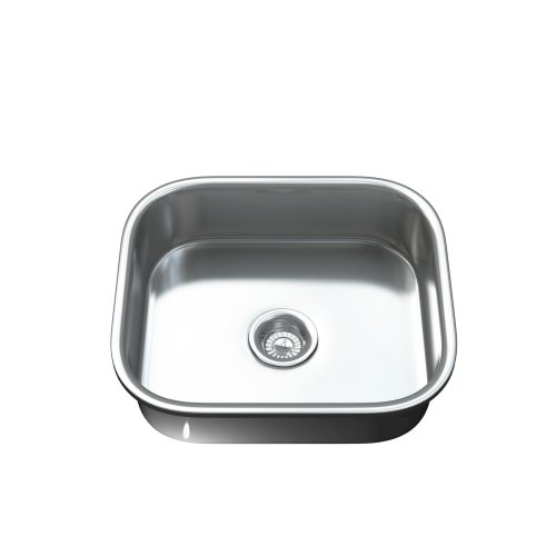 Dihl 1092 Under-mount 1.0 Single Bowl Stainless Steel Kitchen Sink with Waste