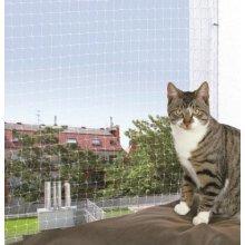 Trixie Protective Net, 3 x 2 M, Transparent - M Net Safety Nets -  trixie transparent m protective net 3 2 safety nets