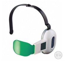 Givingfun Bandai Dragon Ball Z Cosplay Warrior Adjustable Green Lens Scouter Toy w/1 Candy