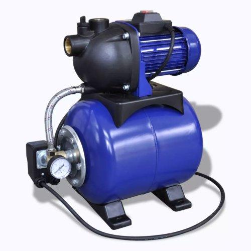 vidaXL Garden Pump Electric 1200W Blue IPX4 Outdoor Farm Water Irrigation