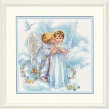 D35134 - Dimensions Counted X Stitch - Angel Kisses