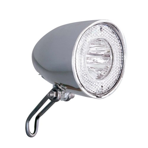 Büchel LED Retro Front light for hub dynamo stand light and sensor