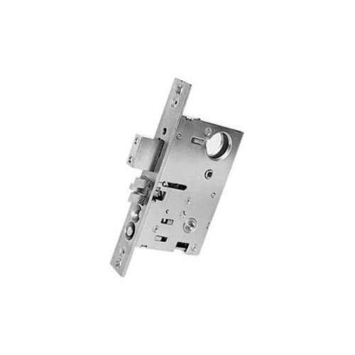 Baldwin 6321056R 2.5 in. Right Handed Residential Entrance, Emergency Egress Mortise Lock - Lifetime Satin Nickel