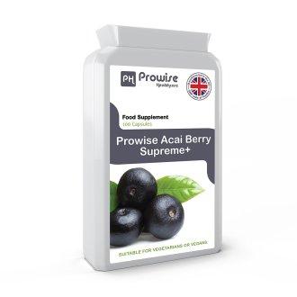 Prowise Acai Berry Supreme+ 120 Capsules 1000mg UK Made