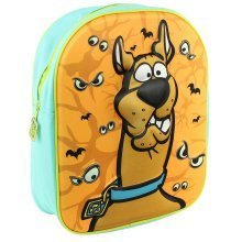 Scooby-Doo Kids' 3D Zip-Up Backpack