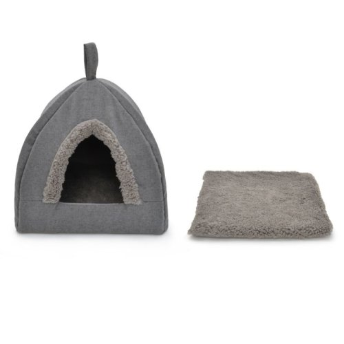 Cat Cuddle Den Decorative Washable Pyramid Shape