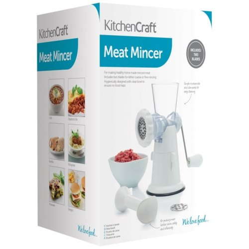 KitchenCraft Mincer With Suction Clamp Fitting