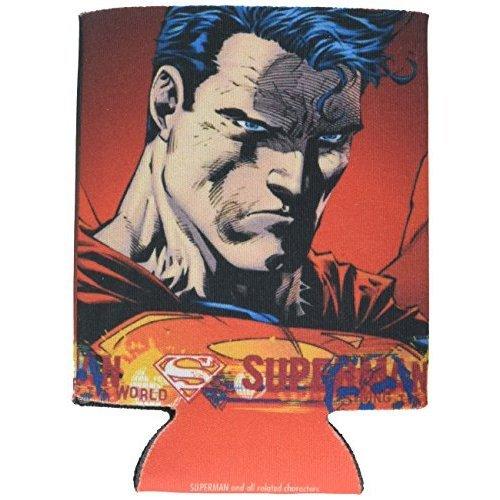 Icup Dc Superman Determination Huggie Koozie Clear