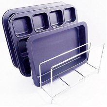 Chrome Bakeware Rack For Storing Up To 8 Baking Trays