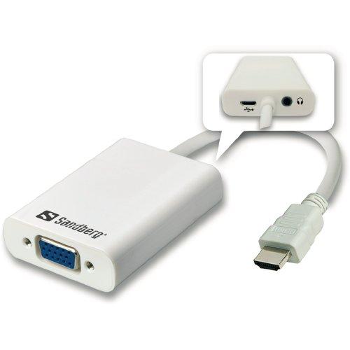 Sandberg HDMI to VGA+Audio Converter