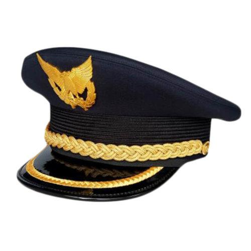 719b874e38d Aircraft Captain Cap Uniform Aviation Cap Railway Hat Costume Accessory-A02  on OnBuy