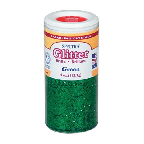 Pacon Corporation PAC91660 Glitter 4Oz Green