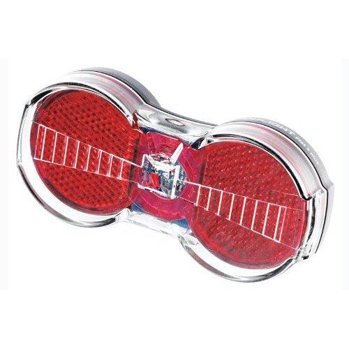 Busch & Müller Toplight, Adult (Unisex), Rücklicht Toplight Flat S Senso, transparent