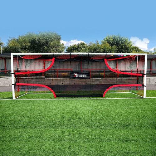 Precision Training Football Soccer Target Practice Training Shot Goal Net 12'x6'
