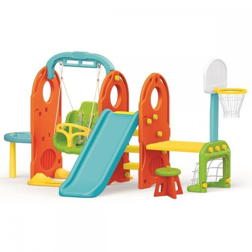Dolu 7-in-1 Kids' Playground Set | Children's Garden Play Centre