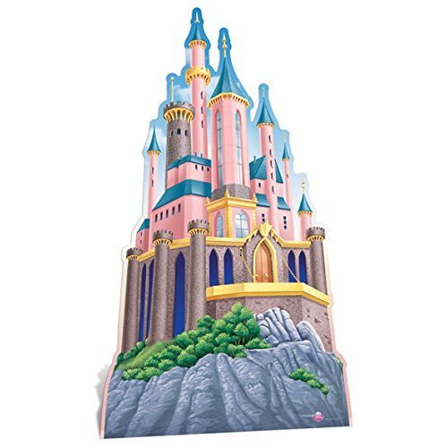Star Cutouts Princess Castle Cardboard Cut Out, Multi-Colour