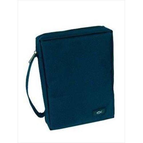 Christian Art Gifts 365734 Bi Cover Durable Polyester Medium Navy Blue