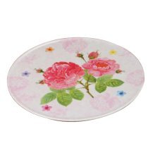 Set of 2 Beautiful flower Trays Placemats Fruits Candies Dishes