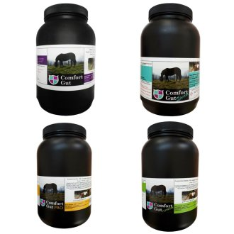 Comfort Gut Powder, Special, Pro & Ultimate Horse Supplements