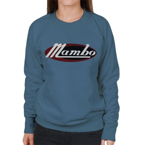 Mambo Retro Ellipse Logo Women's Sweatshirt